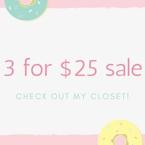 Dresses & Skirts - 3 FOR $25 SALE!!!!